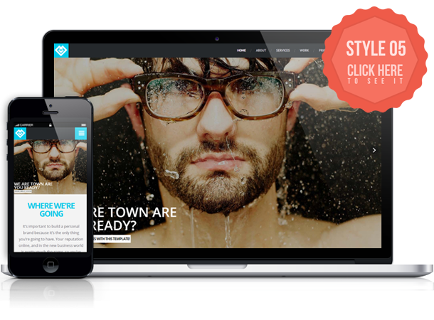 Town - Onepage Retina Template